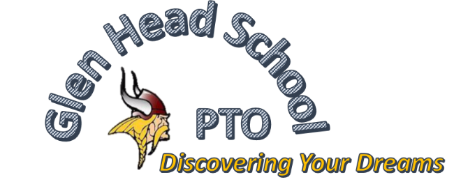 Glen Head School P.T.O.: Discovering Your Dreams (logo) - Link to home page