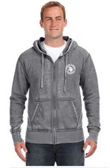 Man wearing Glen Head hoodie